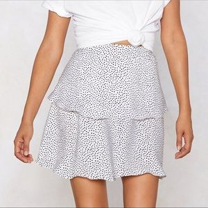 Been Spotted Mini Skirt